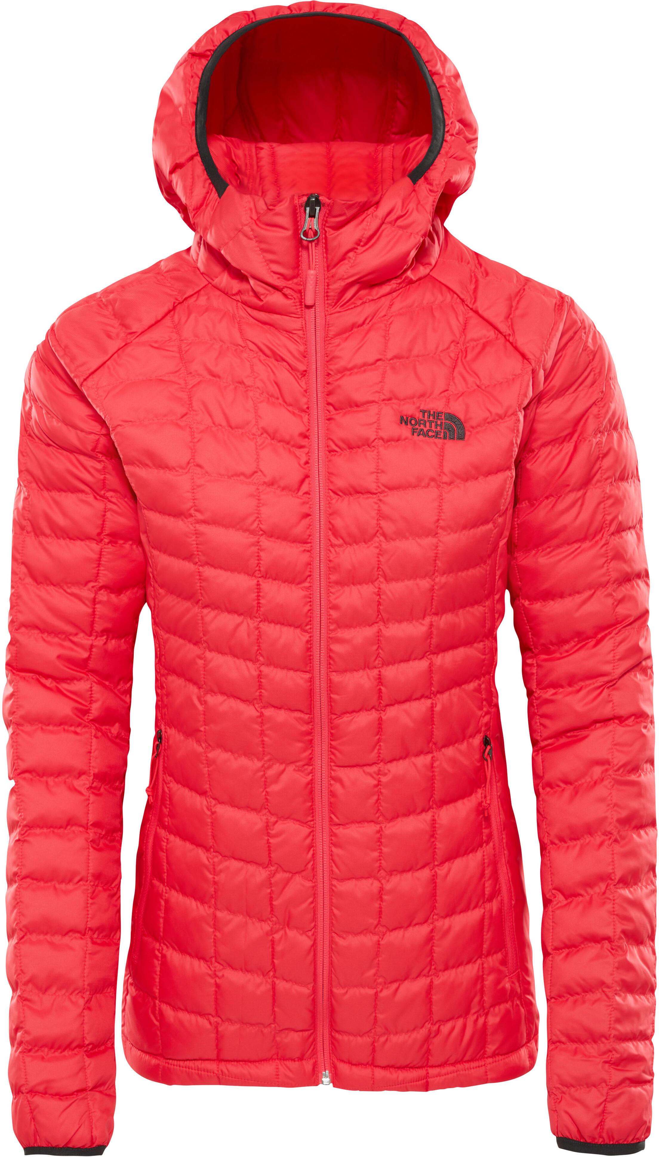 5680325796877 The North Face Tball Sport - Veste Femme - rouge sur CAMPZ !
